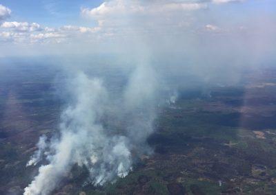 Forest Fire near Manning