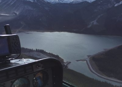 Flying a 206 in the mountains